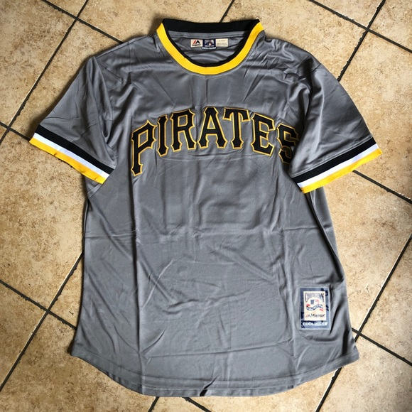 huge selection of 05012 459da Roberto Clemente Pirates Retro MLB Jersey XL NEW